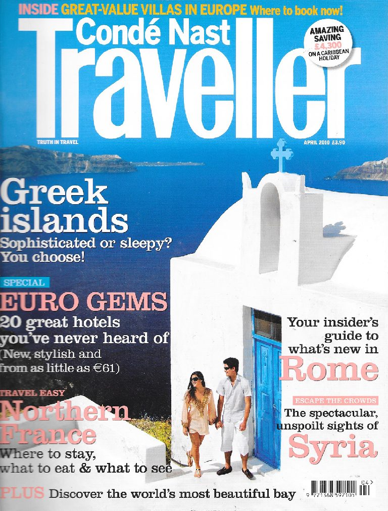 Cruising the Cyclades, Conde Nast Traveller