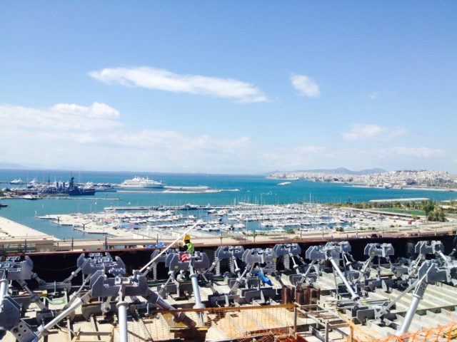 Behind the scenes at the Stavros Niarchos Foundation