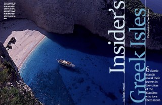 Insiders Greek Isles, National Geographic Traveler