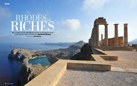 Rhodes to Riches, Thomas Cook Travel