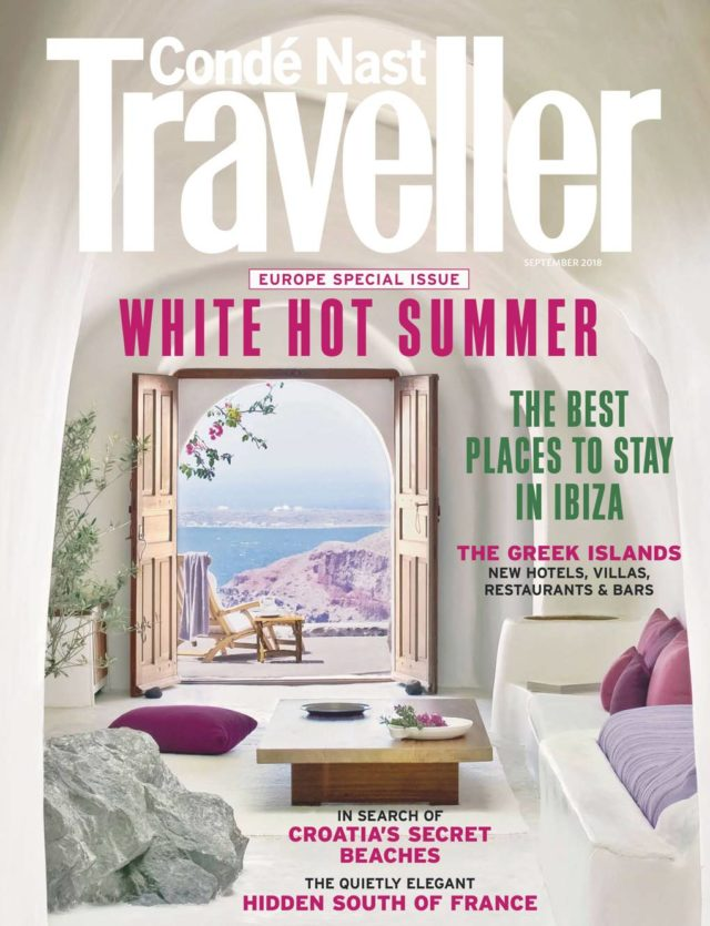 What's Hot on Santorini, Conde Nast Traveller